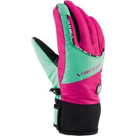 Viking Europe Fin Rękawiczki Dzieci, pink